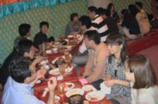 大盛り上がりのモンゴル料理の夕べ